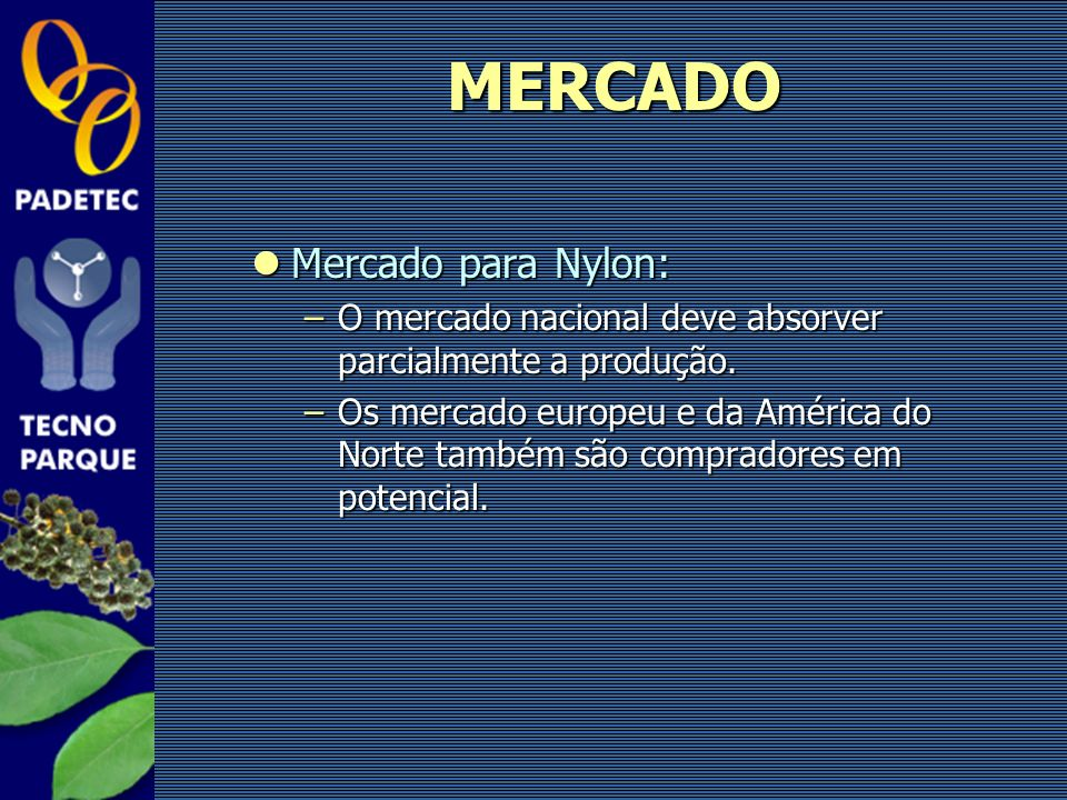 MERCADO Mercado para Nylon: