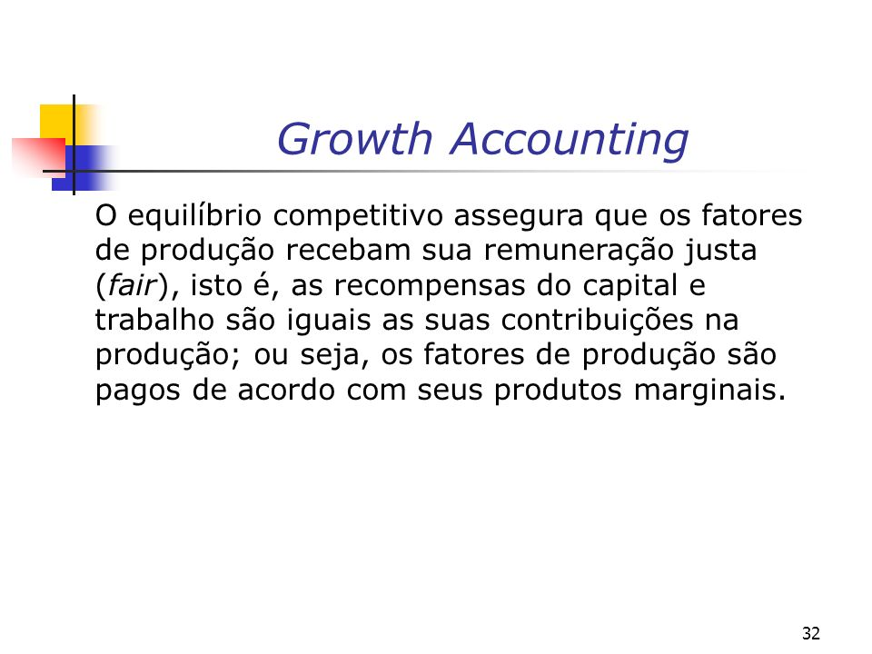Growth Accounting