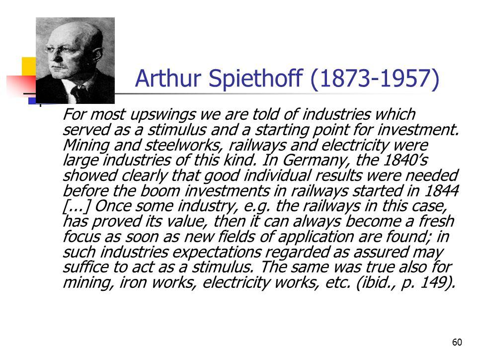 Arthur Spiethoff (1873-1957)