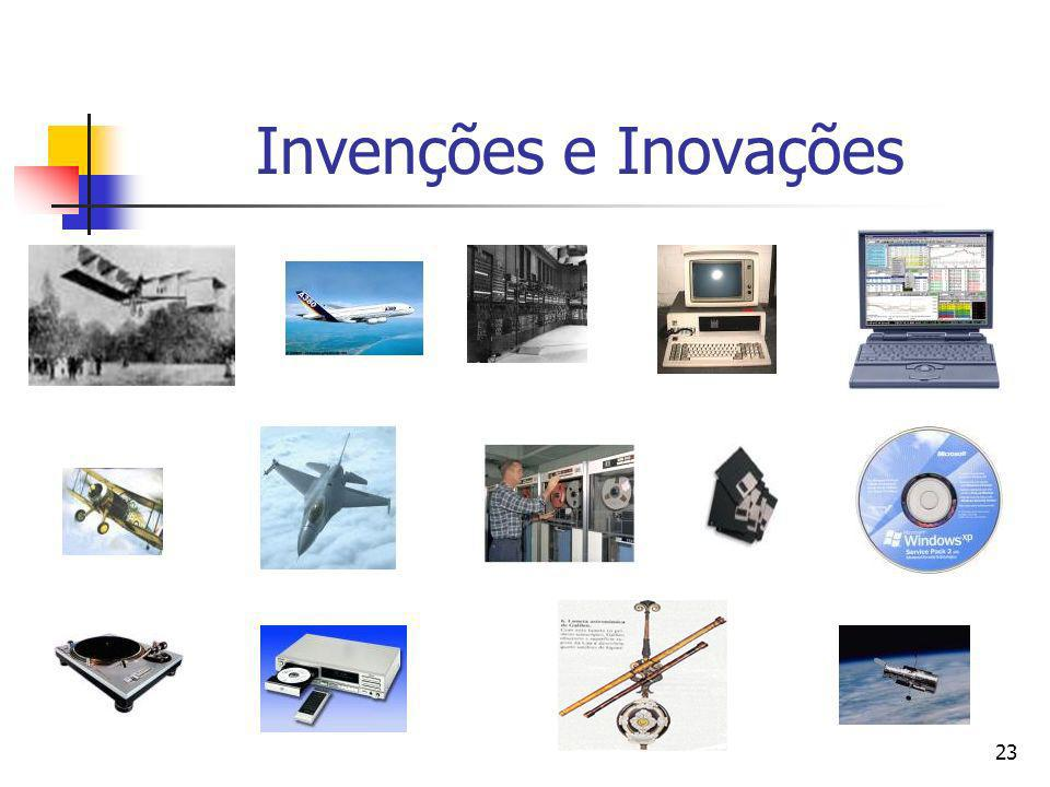 Invenções e Inovações
