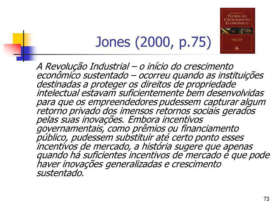 Jones (2000, p.75)