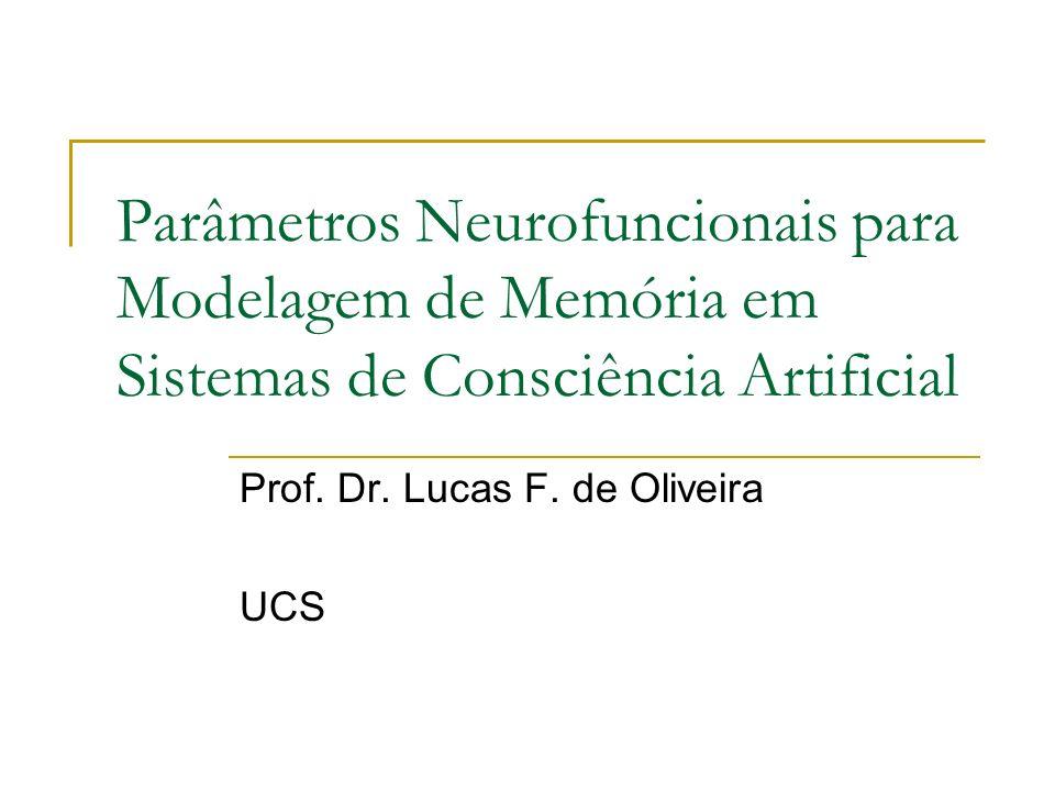 Prof. Dr. Lucas F. de Oliveira UCS