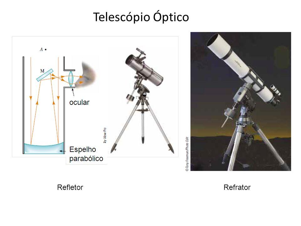 Telescópio Óptico Refletor Refrator