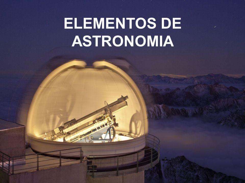 ELEMENTOS DE ASTRONOMIA