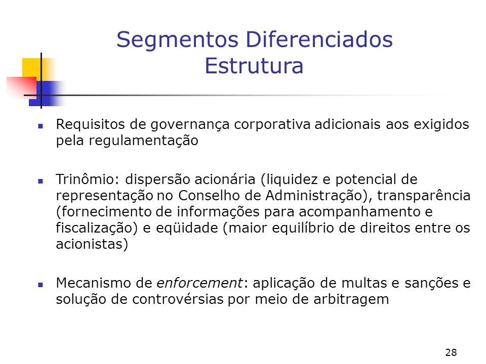 GOVERNANÇA CORPORATIVA: O CASO BRASILEIRO