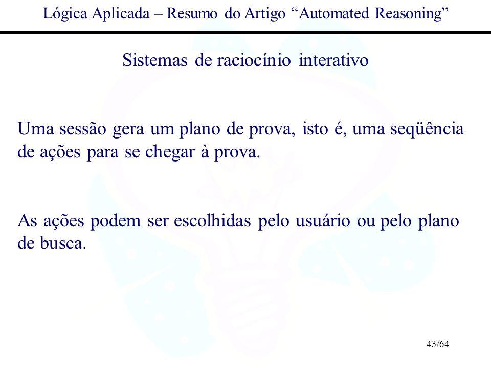 Sistemas de raciocínio interativo