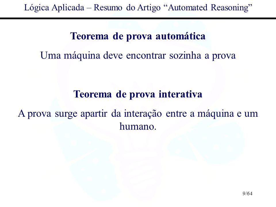 Teorema de prova automática