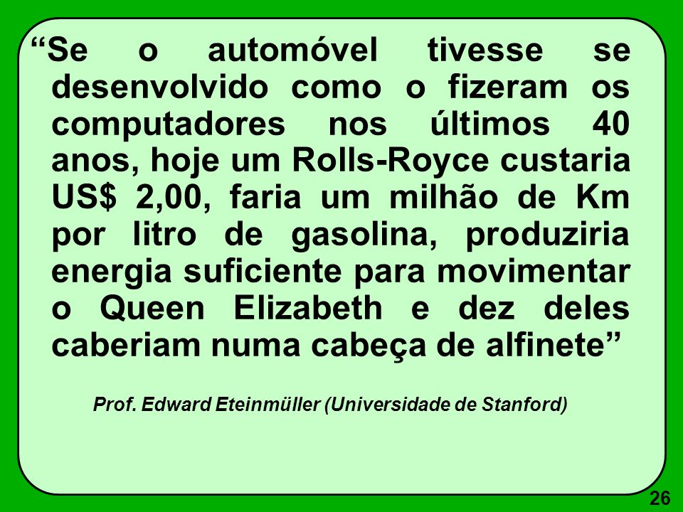 Prof. Edward Eteinmüller (Universidade de Stanford)