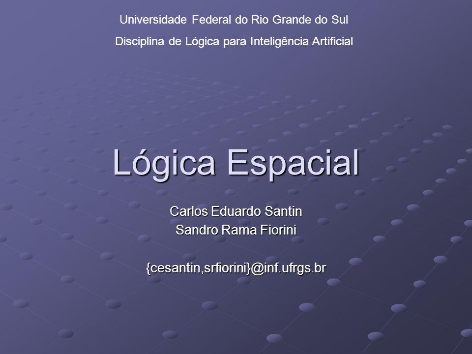 Lógica Espacial Carlos Eduardo Santin Sandro Rama Fiorini