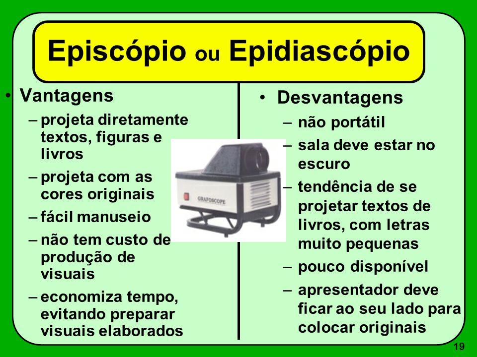 Episcópio ou Epidiascópio