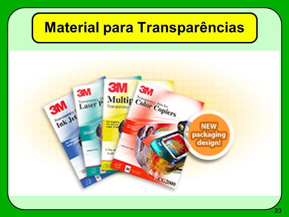 Material para Transparências