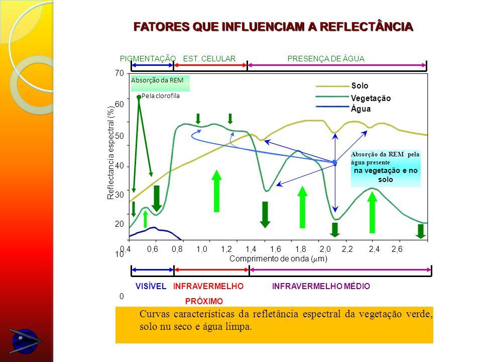 FATORES QUE INFLUENCIAM A REFLECTÂNCIA
