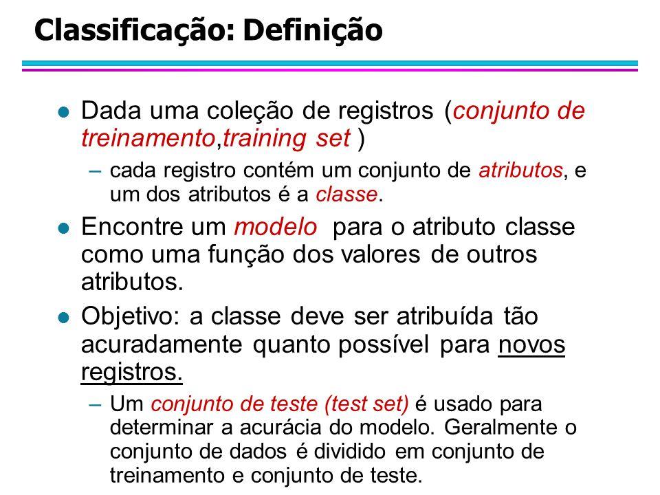 Classificação: Definição