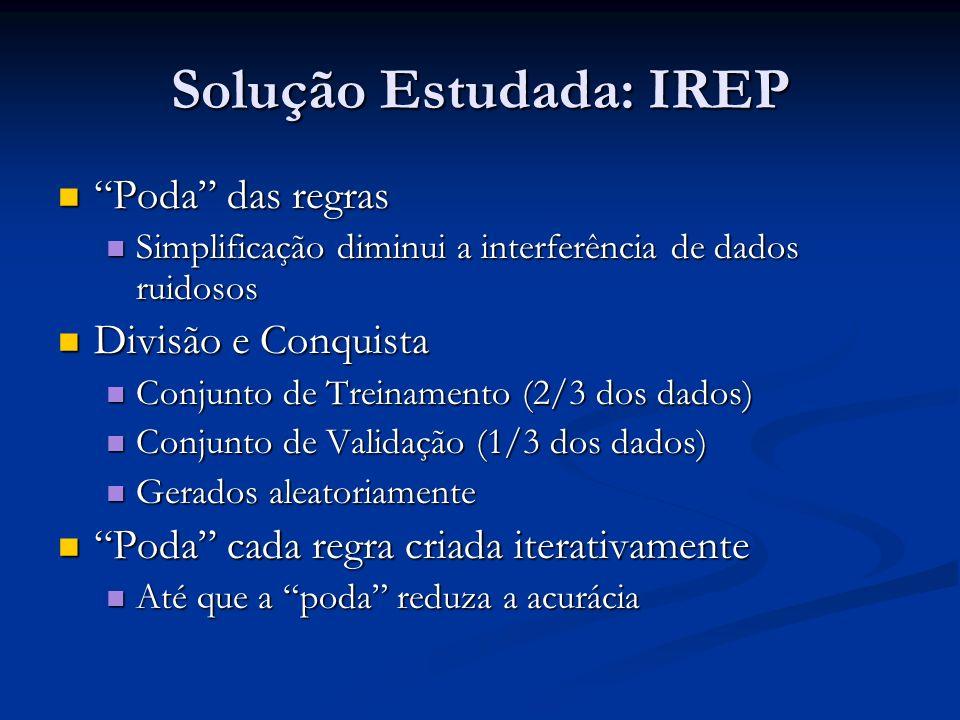 Solução Estudada: IREP