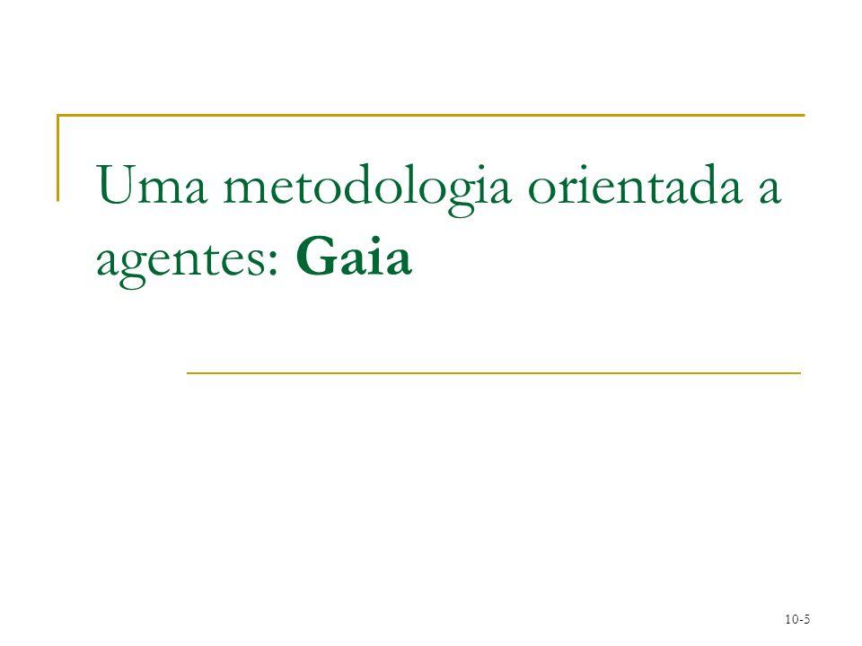 Uma metodologia orientada a agentes: Gaia