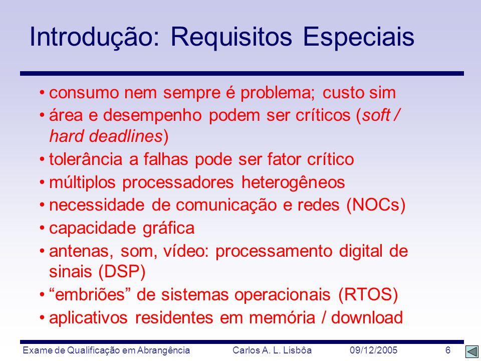 Introdução: Requisitos Especiais