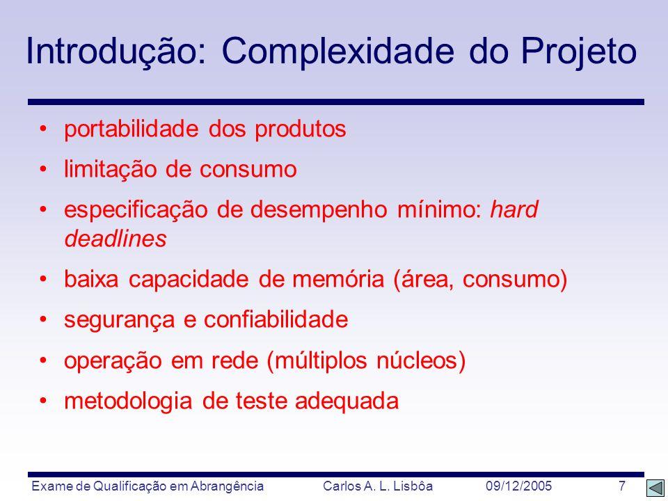 Introdução: Complexidade do Projeto
