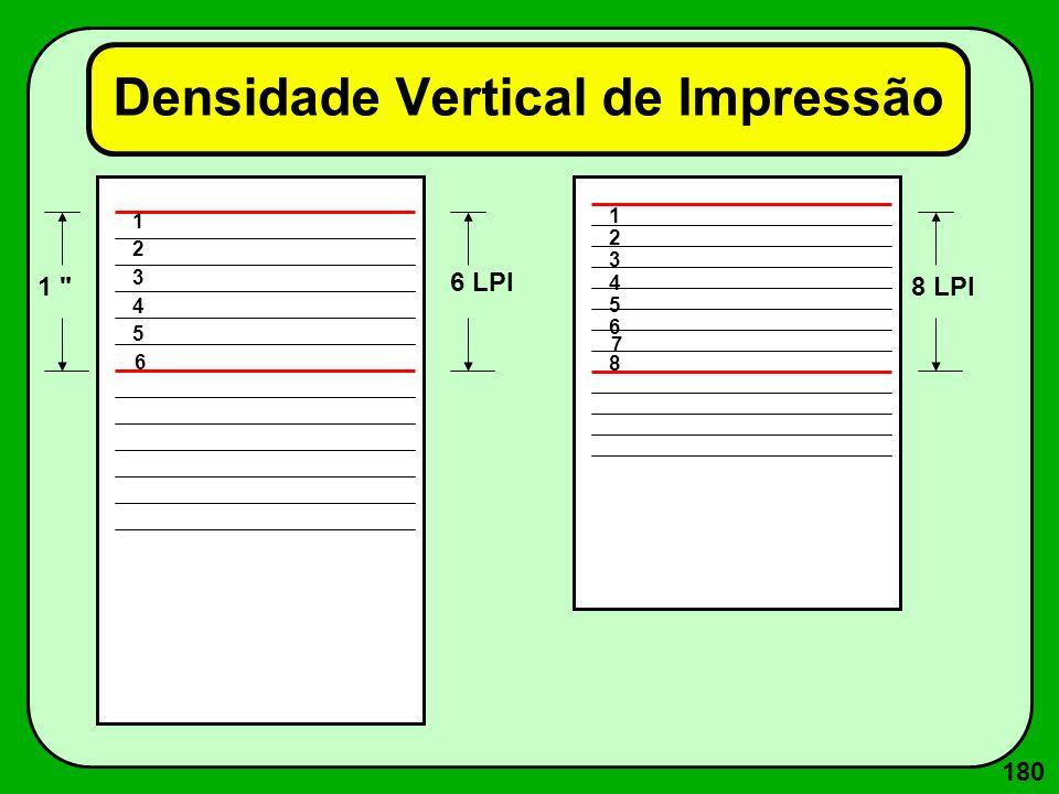 Impressoras de Impacto: Caractere--> Matricial