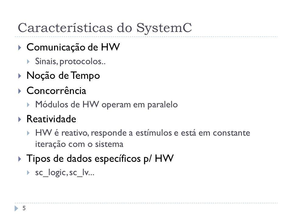 Características do SystemC