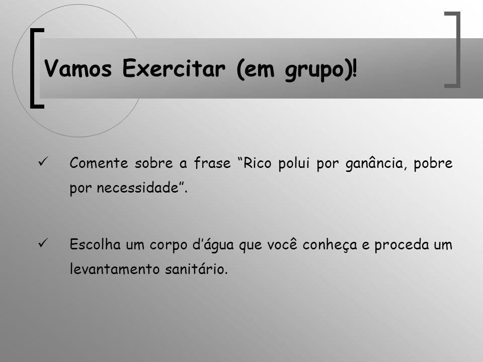 Vamos Exercitar (em grupo)!