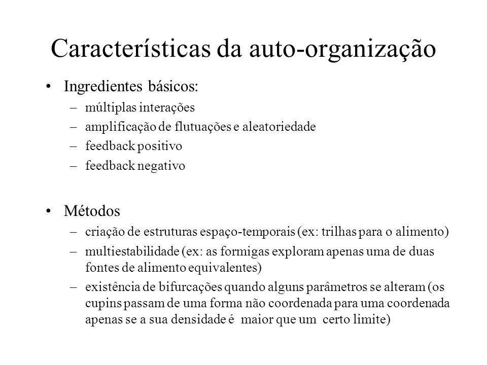 Características da auto-organização