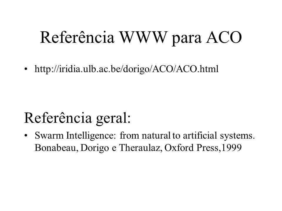 Referência WWW para ACO