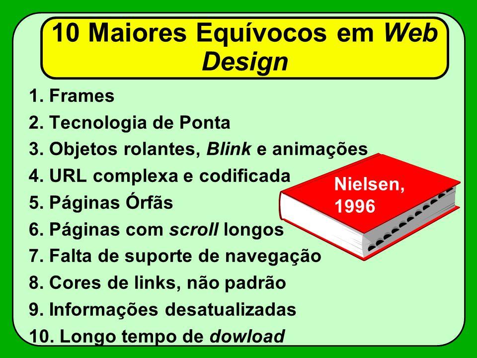 10 Maiores Equívocos em Web Design