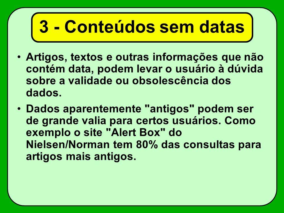 3 - Conteúdos sem datas