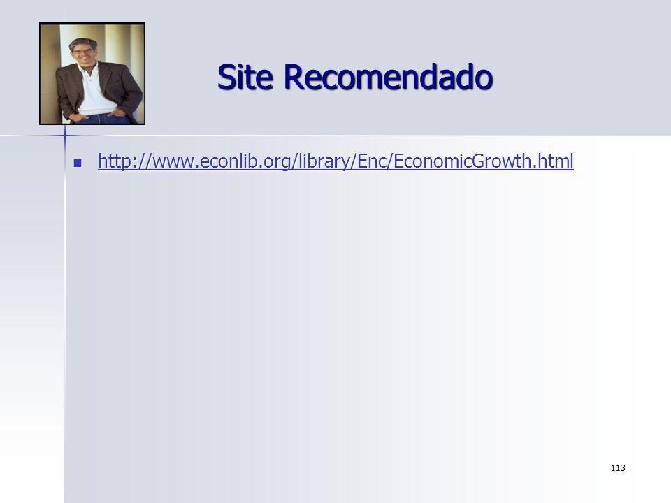 Site Recomendado http://www.econlib.org/library/Enc/EconomicGrowth.html
