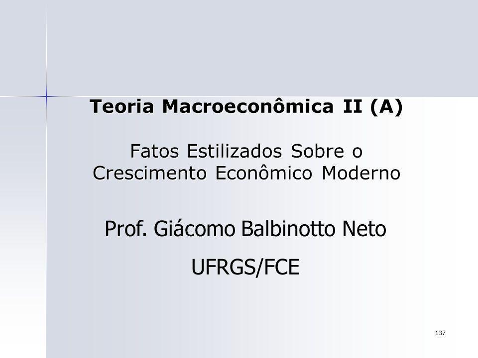 Prof. Giácomo Balbinotto Neto