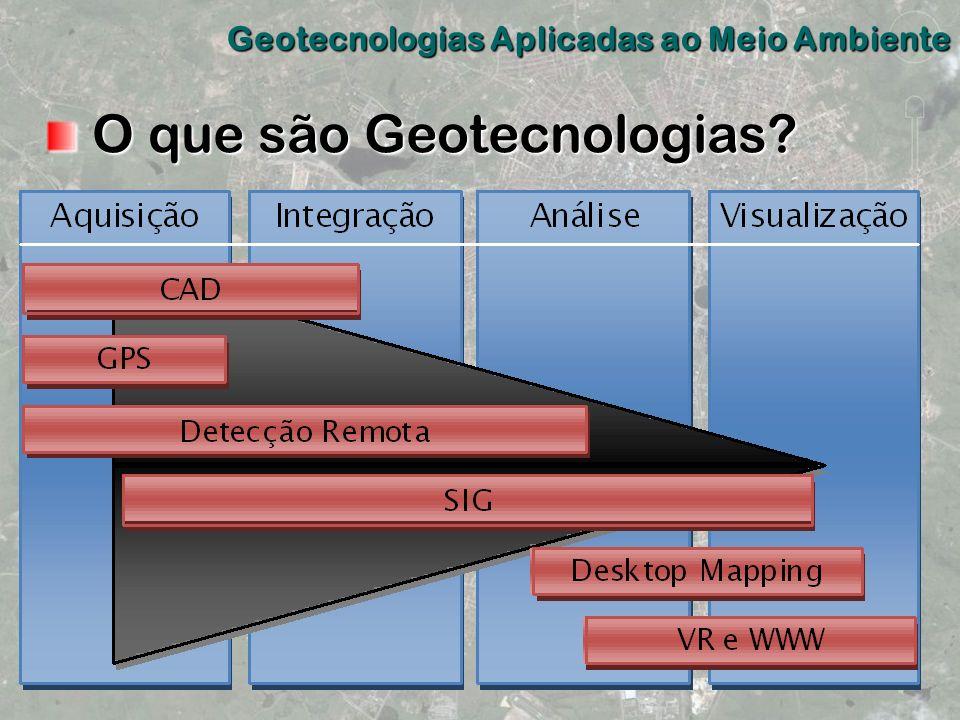 O que são Geotecnologias