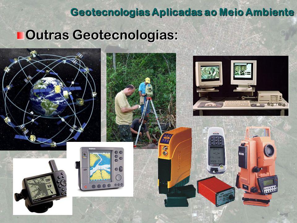 Outras Geotecnologias: