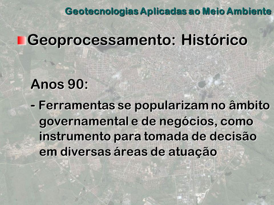 Geoprocessamento: Histórico