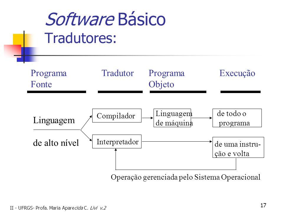 Software Básico Tradutores: