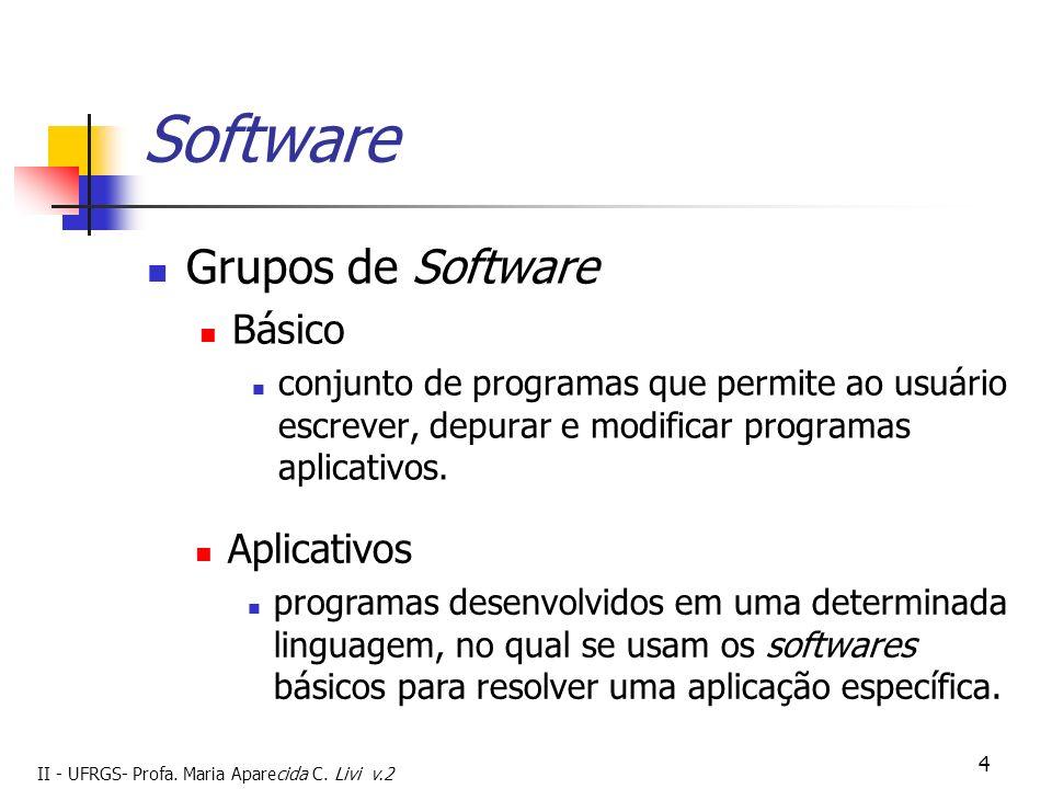 Software Grupos de Software Básico Aplicativos