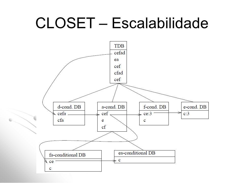 CLOSET – Escalabilidade
