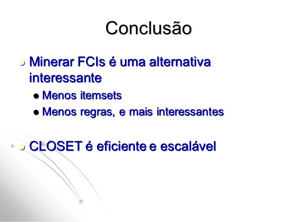 Conclusão Minerar FCIs é uma alternativa interessante