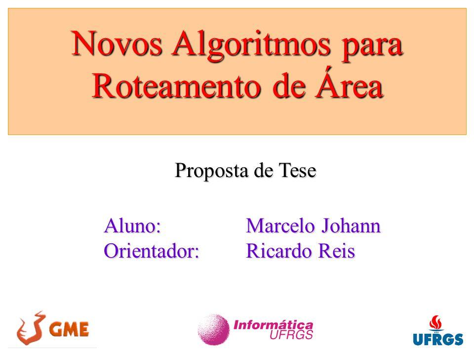 Novos Algoritmos para Roteamento de Área