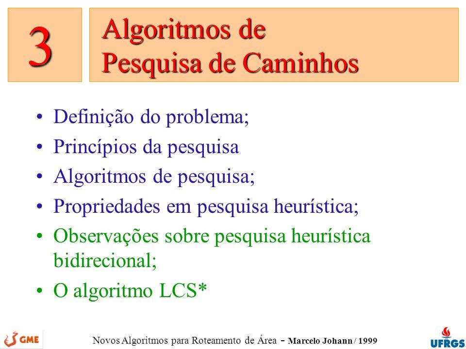 Algoritmos de Pesquisa de Caminhos