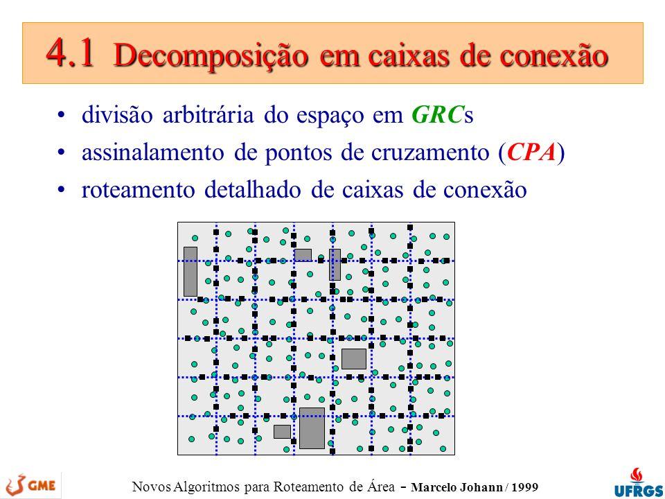 4.1 Decomposição em caixas de conexão