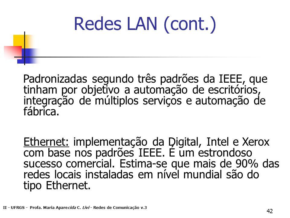 Redes LAN (cont.)