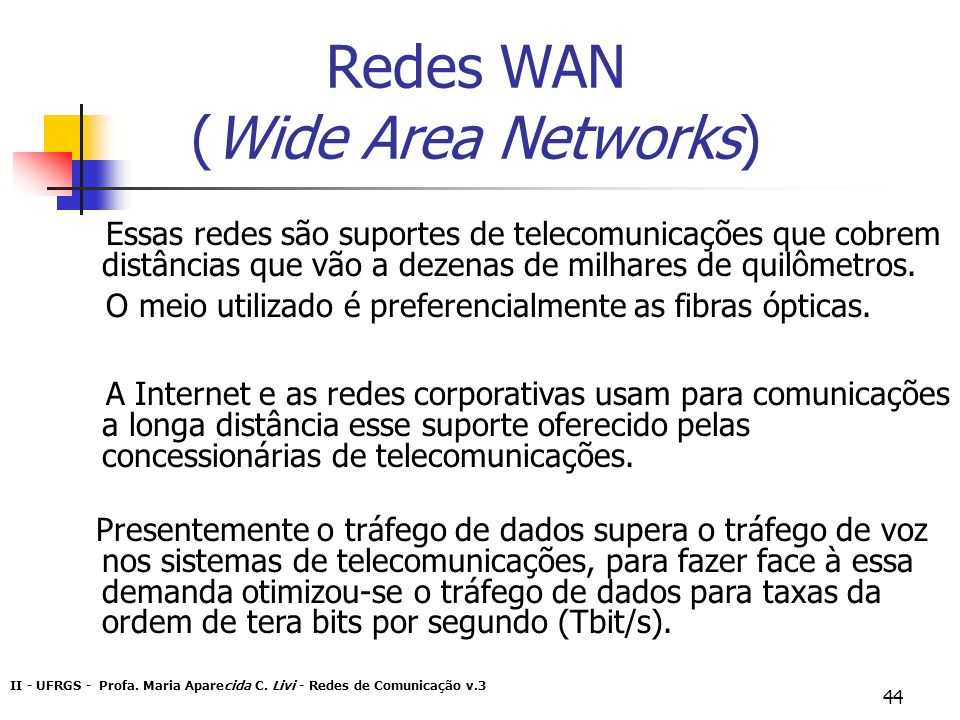 Redes WAN (Wide Area Networks)