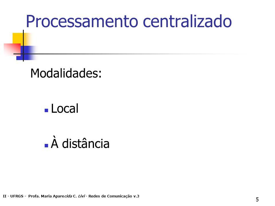 Processamento centralizado