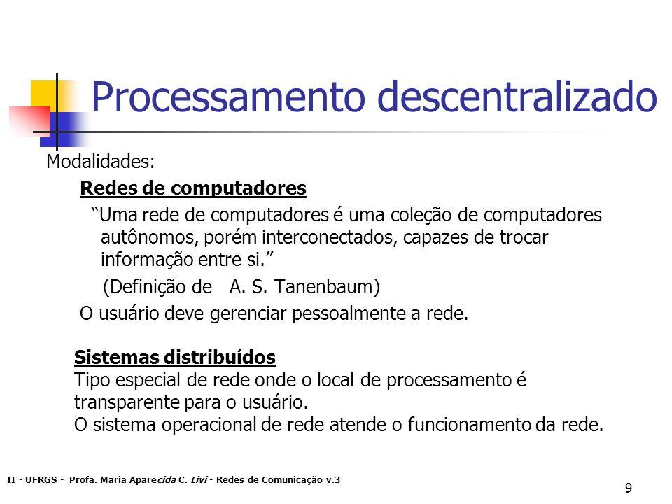 Processamento descentralizado