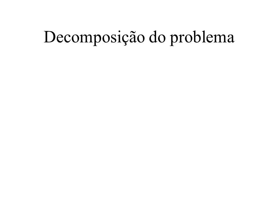 Decomposição do problema