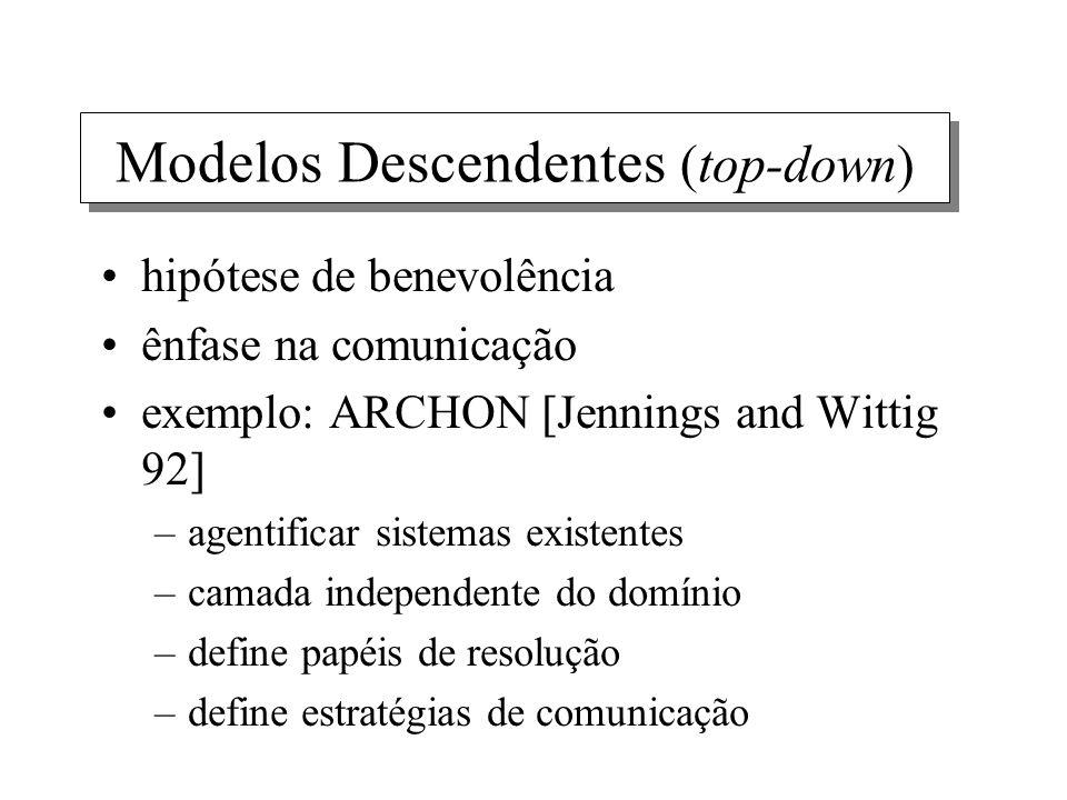 Modelos Descendentes (top-down)