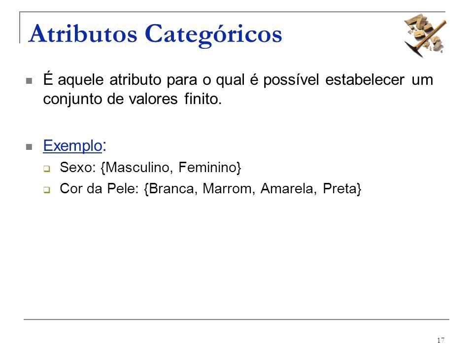Atributos Categóricos
