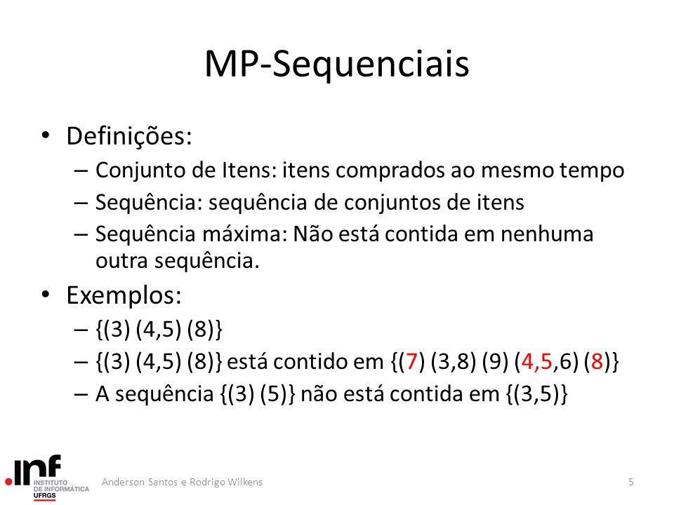 MP-Sequenciais Definições: Exemplos:
