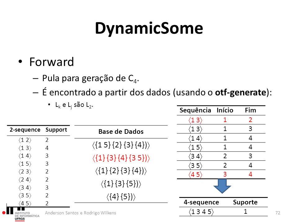 DynamicSome Forward Pula para geração de C4.