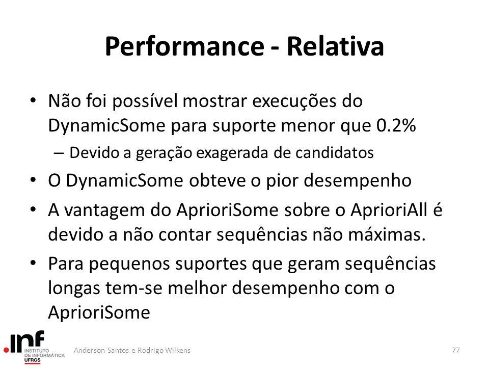 Performance - Relativa